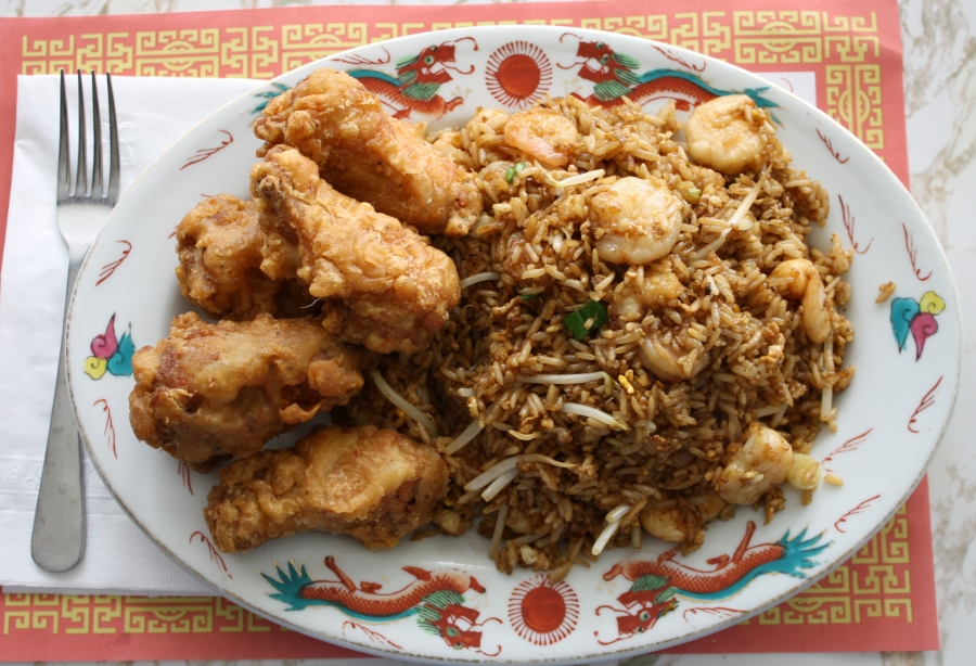 Special Fried Rice With Shrimp And Chicken Recipes — Dishmaps